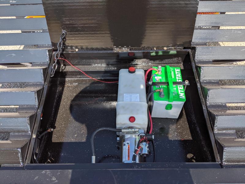 2020 Econoline DP2027DA Equipment Trailer