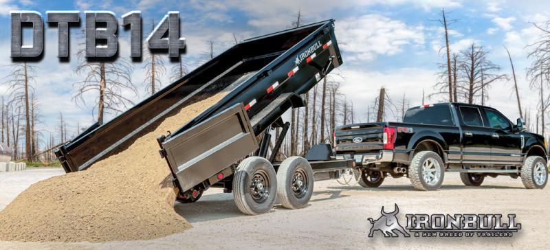 2022 Iron Bull DTB14 83x16 Dump Trailer