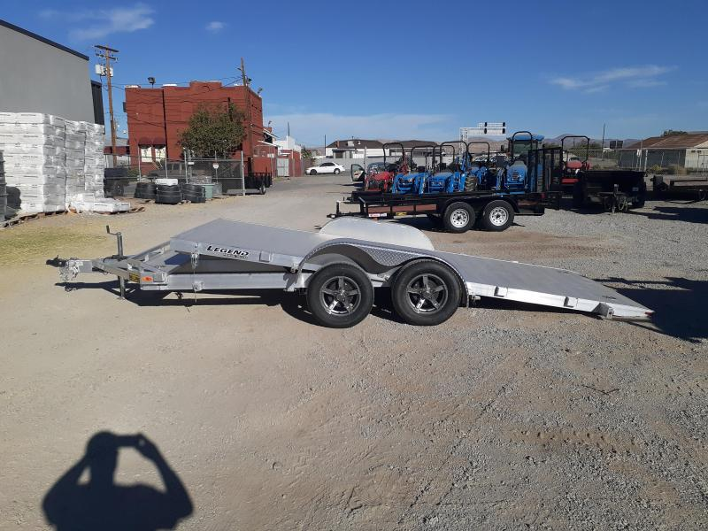 2021 Legend Trailers 7X18 Tilt Car Hauler Car / Racing Trailer