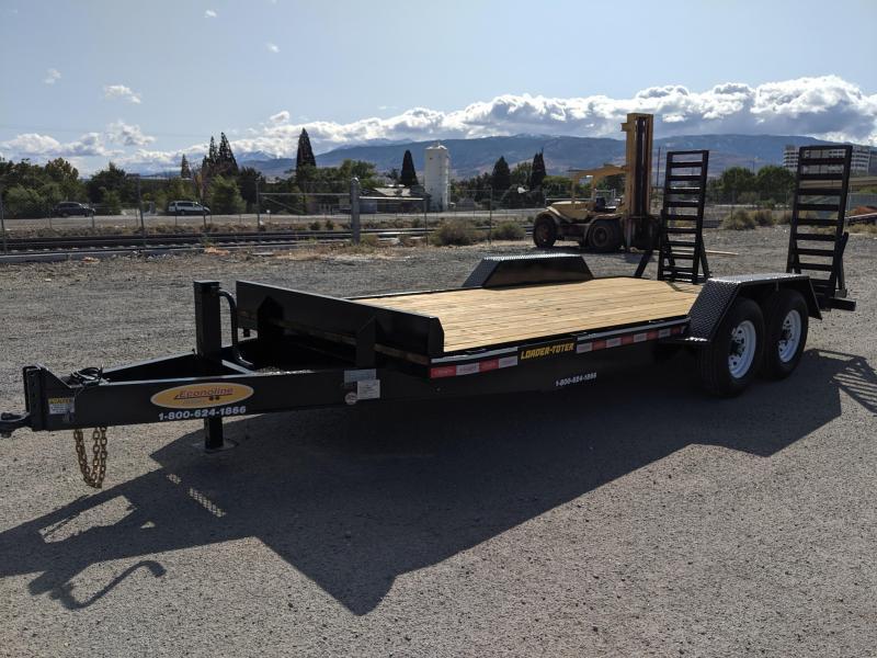 2020 Econoline 7-Ton Landscape Dovetail (Loader Toter) AP0718DE Equipment Trailer