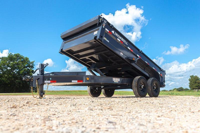2022 Iron Bull EWB831472 Dump Trailer