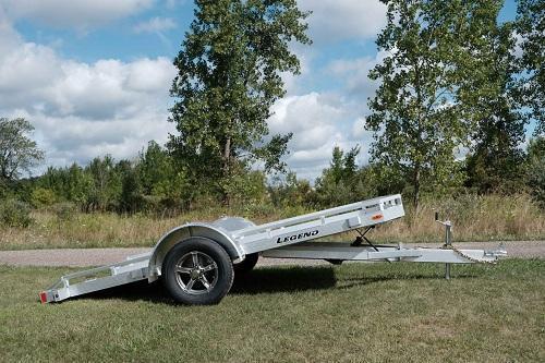 2022 Legend Trailers 7X12 Tilt Utility Aluminum Utility Trailer