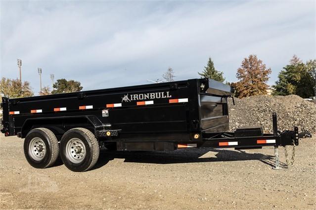 2021 Iron Bull DBL LOW-PRO DUMP TRAILER Dump Trailer
