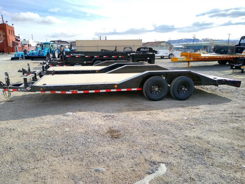 2021 Iron Bull EQ14 - 1000lb GVWR Tandem Axle0 Equipment Trailer