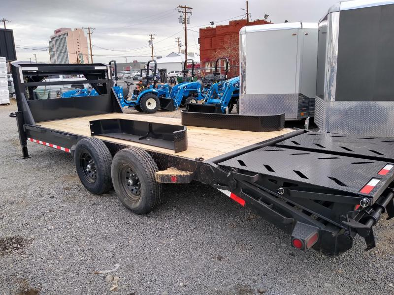 2021 Iron Bull ETG14 14000lb GVWR Tandem Axle Gooseneck Equipment Trailer