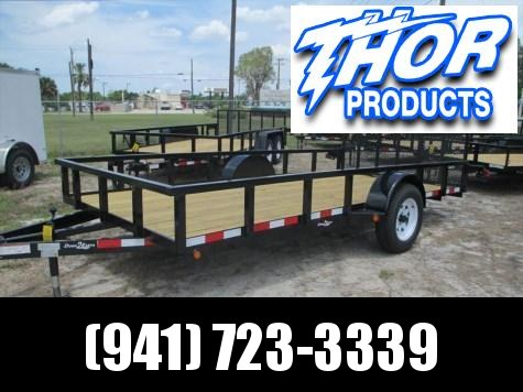 "IN STOCK!  6'4"" x 12 SA Utility Trailer W/Tube top and rear ramp"