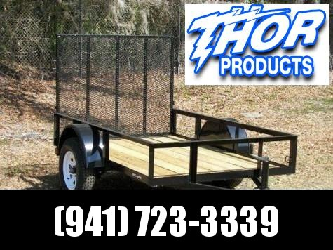 2021 Triple Crown Trailers SINGLE AXLE UTILITY TRAILER Other