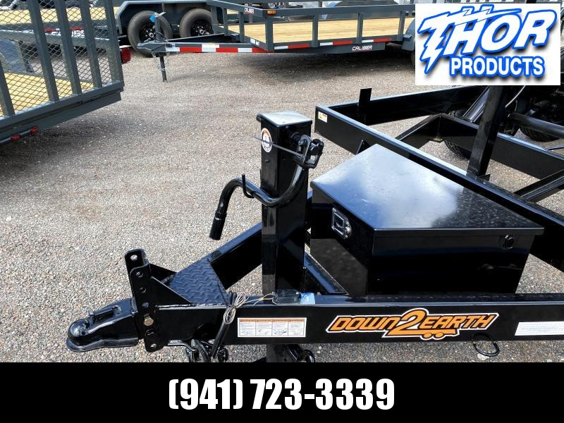 IN STOCK! 7x14 TA 14K Dump Trailer with 2' SIDES Ramps and Tarp Included