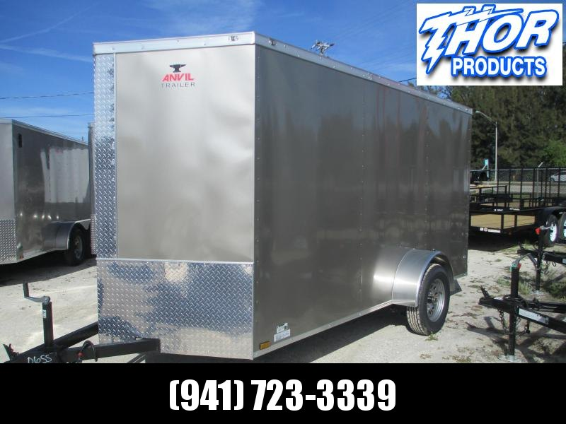 NEW 6 x 12 SA Trailer Ramp Door and side door Pewter
