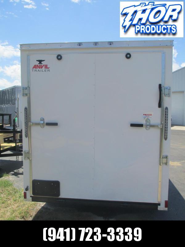 IN STOCK! 6 x 12 SA Trailer Ramp Door and side door White