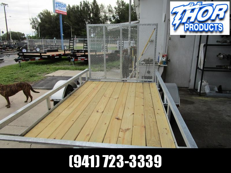 GALVANIZED 5X8 Utility Trailer w/RAMP - GREAT FOR THE POOL GUYS!!