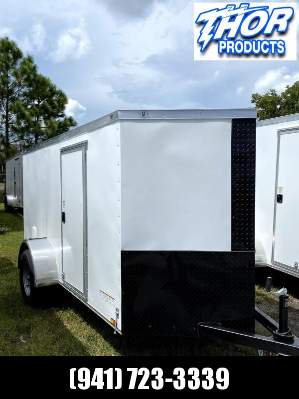 IN STOCK! NEW 5 x 10 SA Enclosed Trailer w/side and Ramp Door