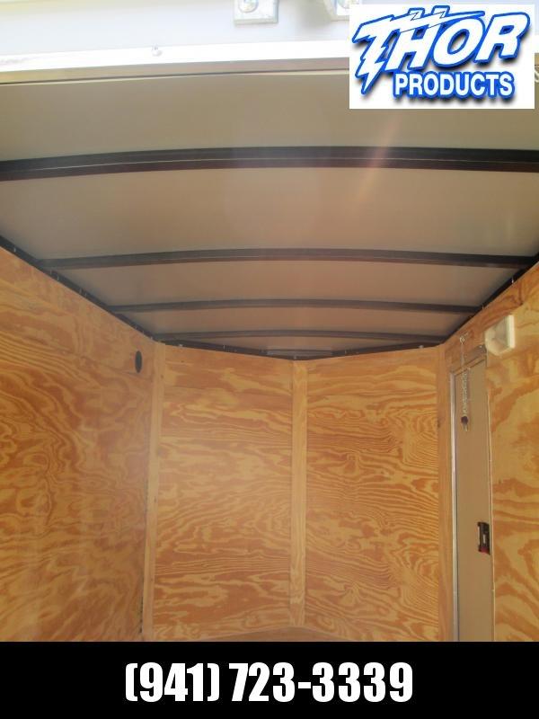 NEW 6 x 10 SA Trailer w/Ramp door Side Door SILVER