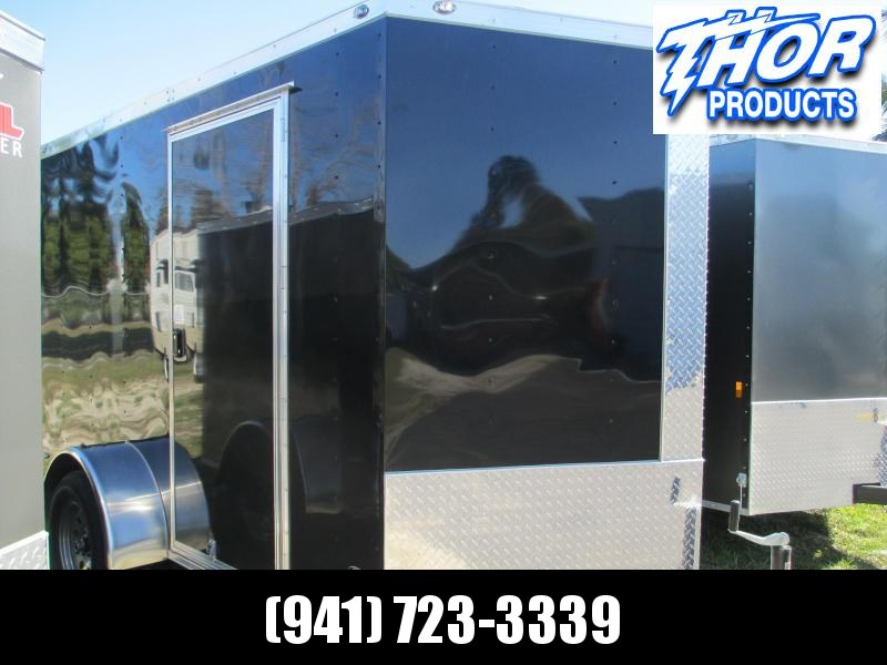 NEW 6 x 12 SA Trailer Ramp Door and side door BLACK