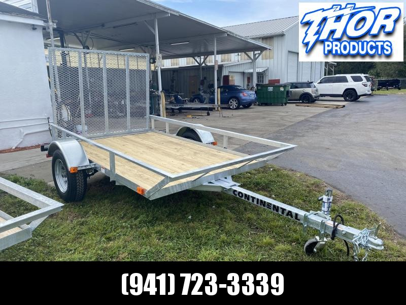 IN STOCK! GALVANIZED 5X8 Utility Trailer with Ramp!  GREAT FOR THE POOL BUSINESS!
