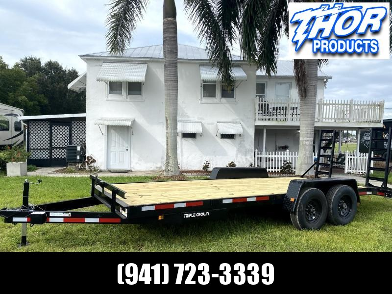 IN STOCK! 7X20 14K EQP Equipment Trailer HAUL 12000 POUNDS!