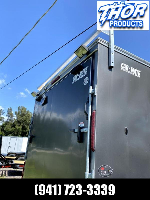USED 2017 22' Contractor Trailer Tool Boxes built into the side!  DON'T MISS THIS ONE!!