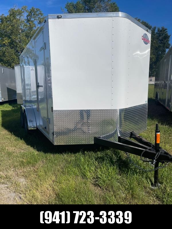 """IN STOCK! 7X14 TA Trailer V-nose Ramp Door 54"""" Extended Tongue"""