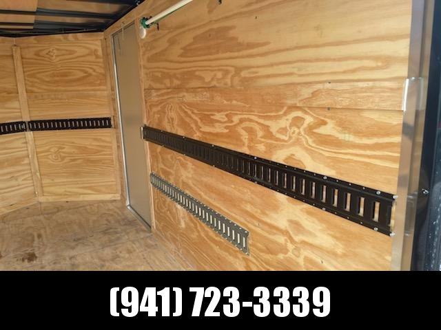 2021 Covered Wagon Trailers CW6X12TA Enclosed Cargo Trailer