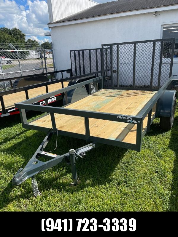 IN STOCK! 6X10 SA Tube Top Utility Trailer w/LED lights * Ramp * RADIAL TIRES