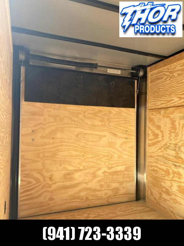 IN STOCK! 6 x 10 SA Trailer w/Ramp door Side Door SILVER