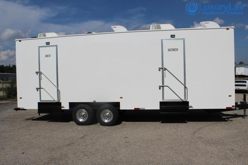 110 B LuxuryLav BT OPT 10 Stall Restroom Trailer
