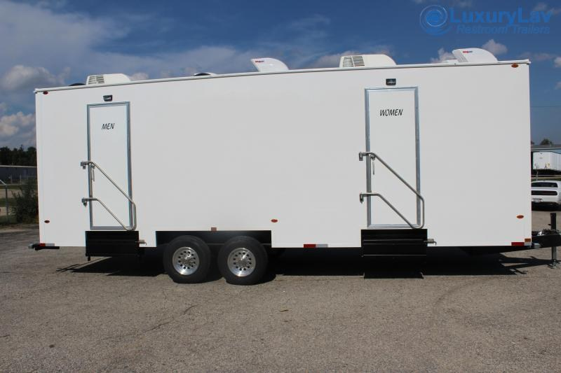 110 A LuxuryLav BT Villeta 10 Stall Restroom Trailer
