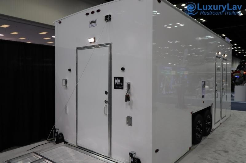 103 LuxuryLav ADA+2 BT 3 Stall Restroom Trailer
