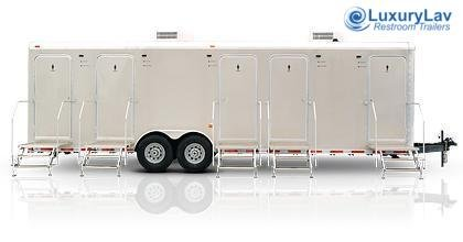 105 LuxuryLav 5 Stall Restroom Trailer