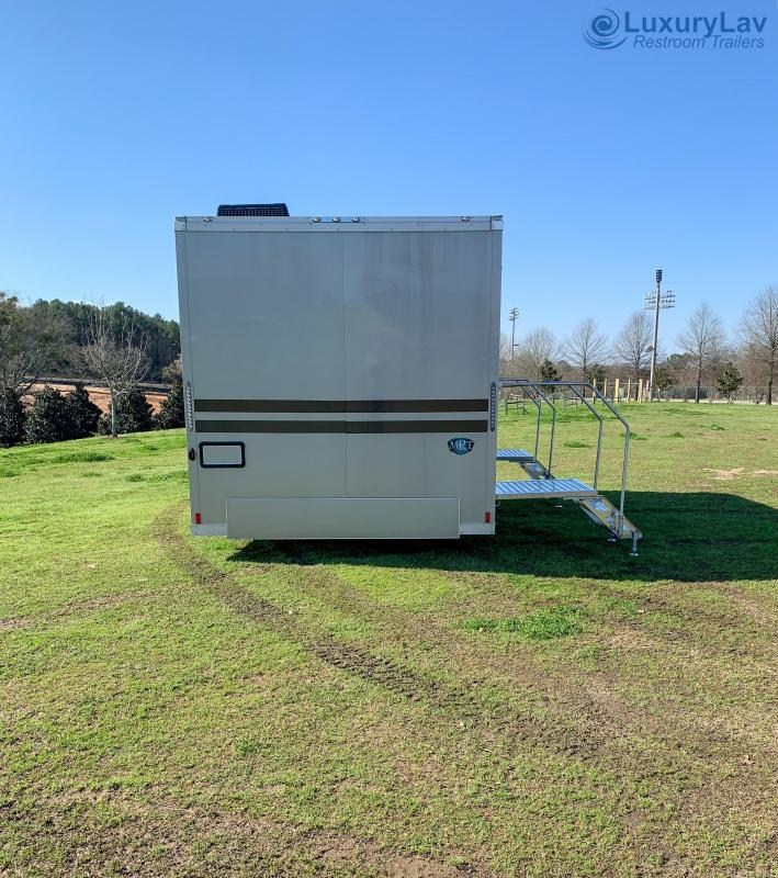 106A Pre-Owned Wide Body Ranier Multi Stall Restroom Trailer