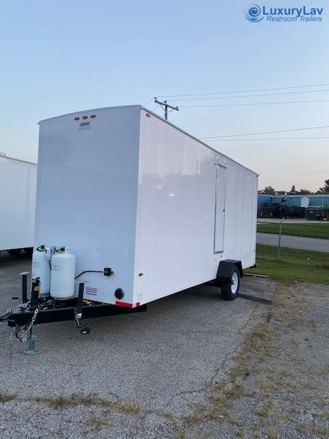 LuxuryLav 4 Stall OPT BT Restroom Trailer