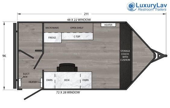 Specialty Office Trailer 17' RE