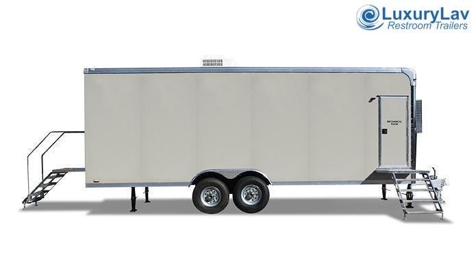 108 LuxuryLav Wide Body 8 Stall Shower