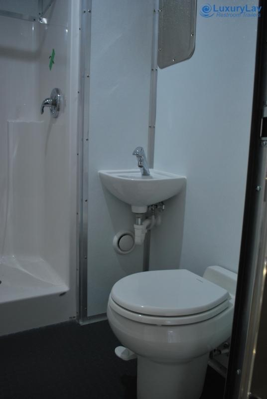 LuxuryLav AD/  Handicap Accessible Laundry Restroom Shower