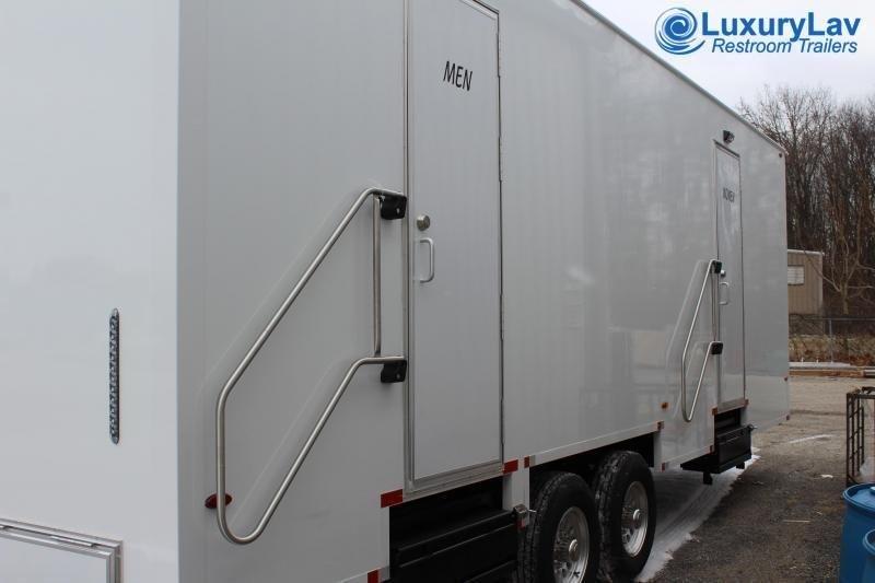 108 B LuxuryLav 22' 8 Stall LUX Public Restroom Trailer
