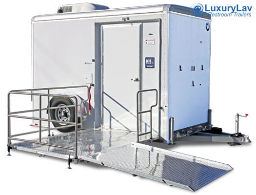 101 LuxuryLav ADA Single-Stall Restroom Trailer