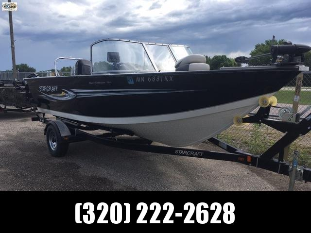 2011 Starcraft Marine 186 Super Fisherman Fishing Boat