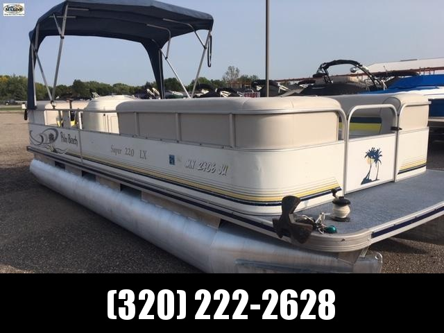 2004 Palm Beach Super 220 LX Pontoon Boat
