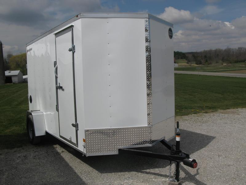 2021 Wells Cargo FastTrac 6x12 Basic Enclosed Cargo Trailer