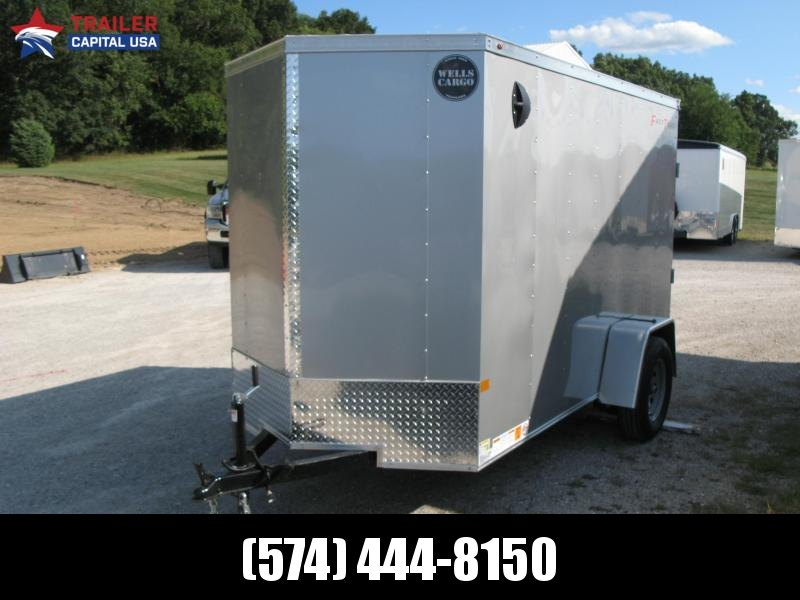 2022 Wells Cargo Fast Trac 5x10 Deluxe Enclosed Cargo Trailer