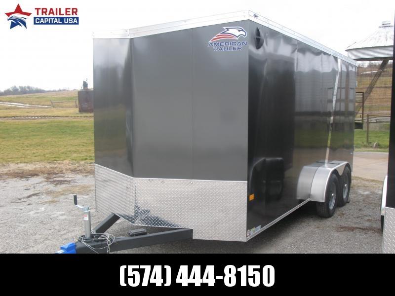 2021 American Hauler Night Hawk 7x16 7' Interior Height Premium Enclosed Cargo Trailer