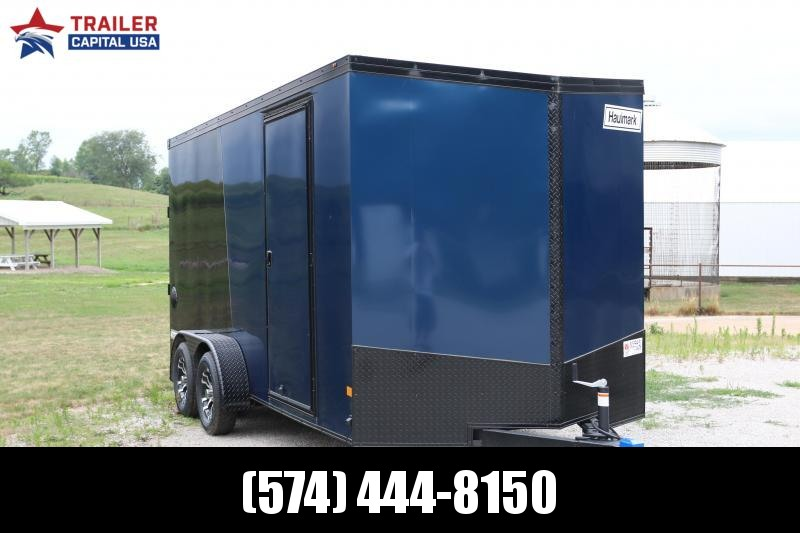 2020 Haulmark TransPort 7x16 Phantom Package 7' Interior Height Enclosed Cargo Trailer
