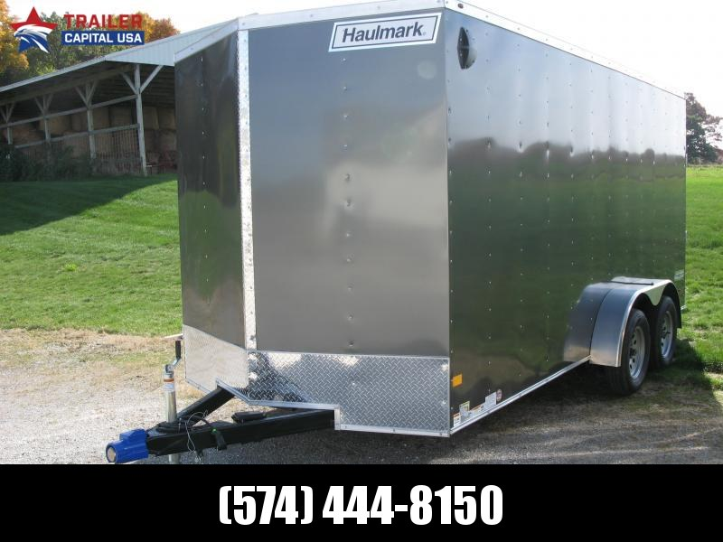 2021 Haulmark PassPort 7x16 Deluxe 7' Interior Height Enclosed Cargo Trailer