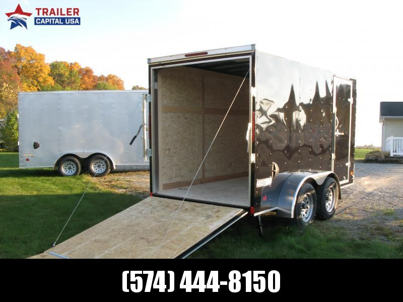 "2021 Haulmark PassPort 6x12 Deluxe Tandem 6'6"" Interior Height Enclosed Cargo Trailer"