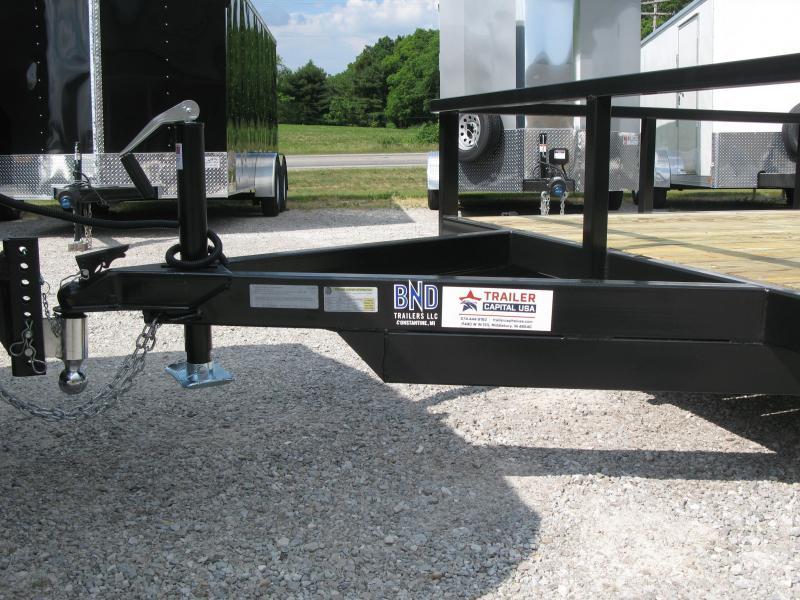 2021 BND 7x14 Open Standard Side Utility Trailer