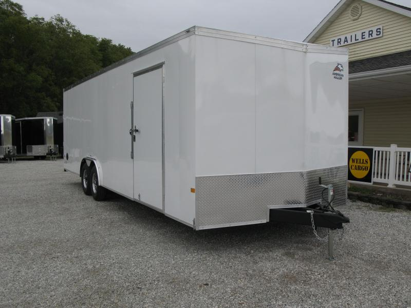2022 American Hauler Night Hawk 8.5x28 Car / Racing Trailer