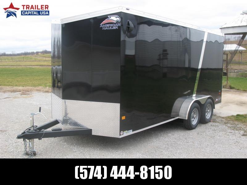 2021 American Hauler Night Hawk 7x16 7' Interior Height Enclosed Cargo Trailer