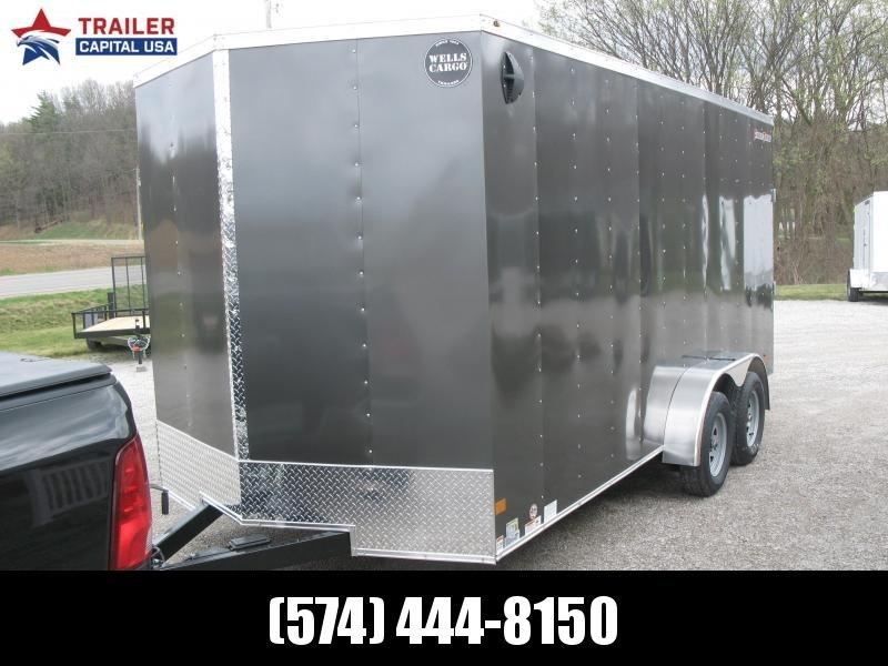 2021 Wells Cargo FastTrac 7x16 Deluxe Enclosed Cargo Trailer