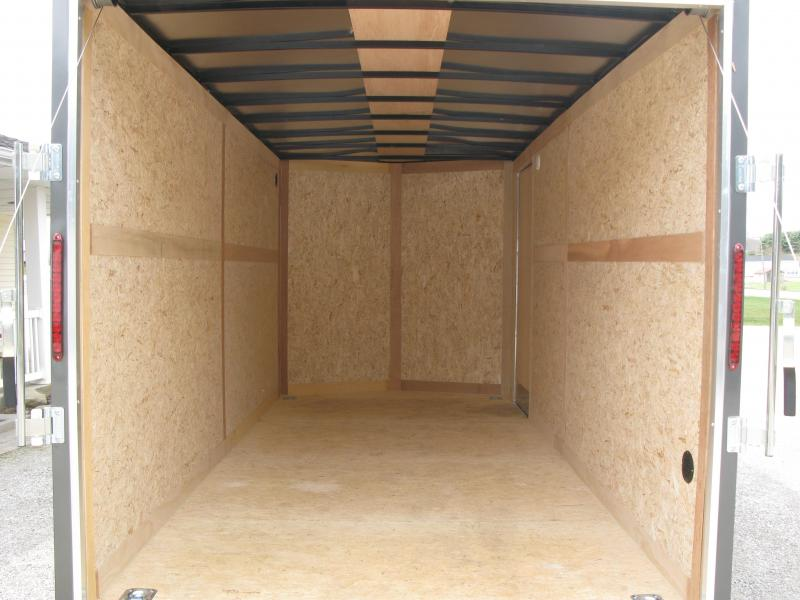 2021 Wells Cargo FastTrac 7x16 Deluxe Enclosed Cargo Trailer