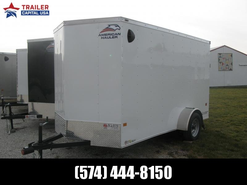 2021 American Hauler Arrow 6x12 Basic Enclosed Cargo Trailer